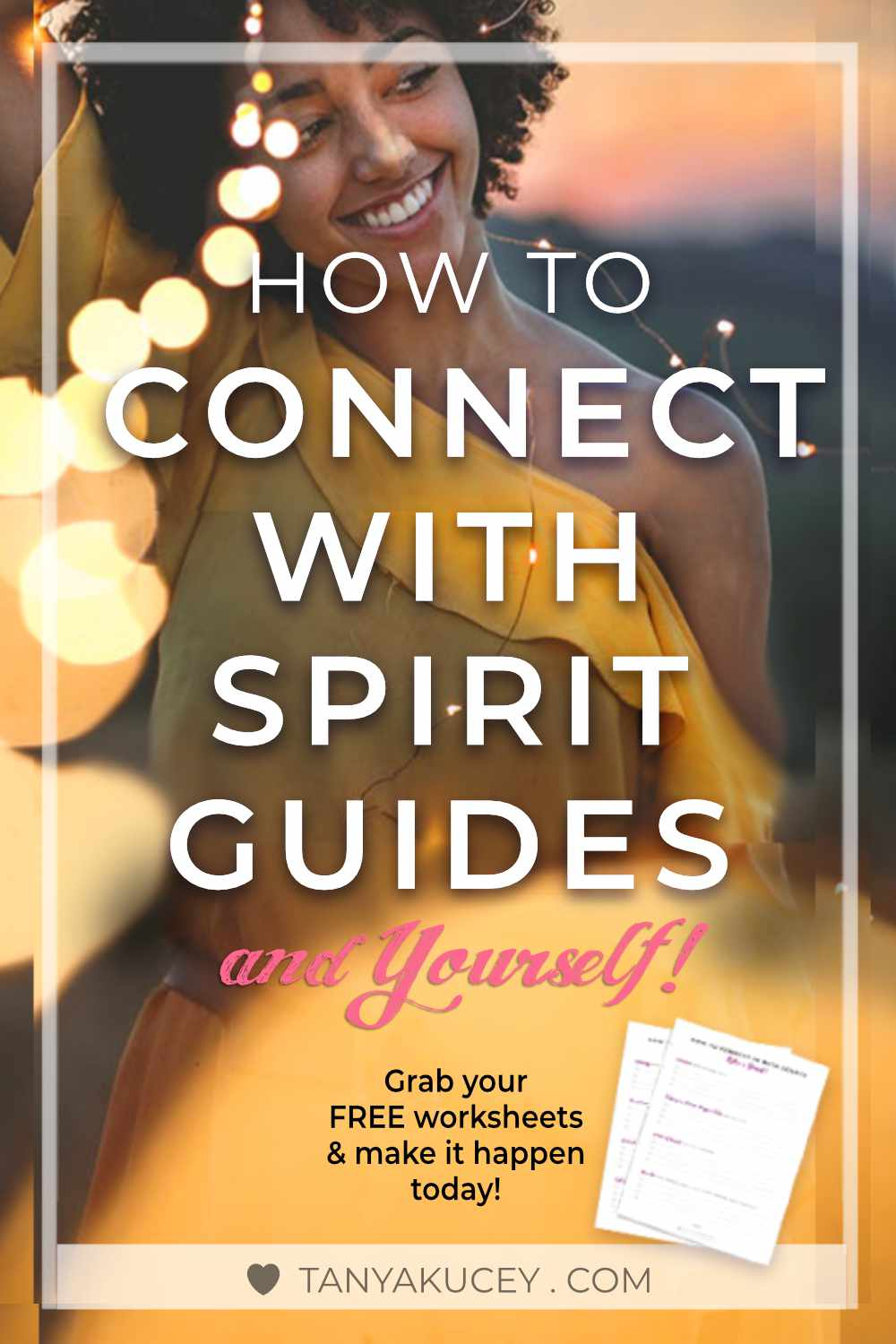 How to Connect with Spirit. FREE worksheets to make it happen today. How to connect with spirit, how to connect, how to get unblocked, tips to talk with spirit, relationships, All That Is, Spirit guides, how to get back in the flow.