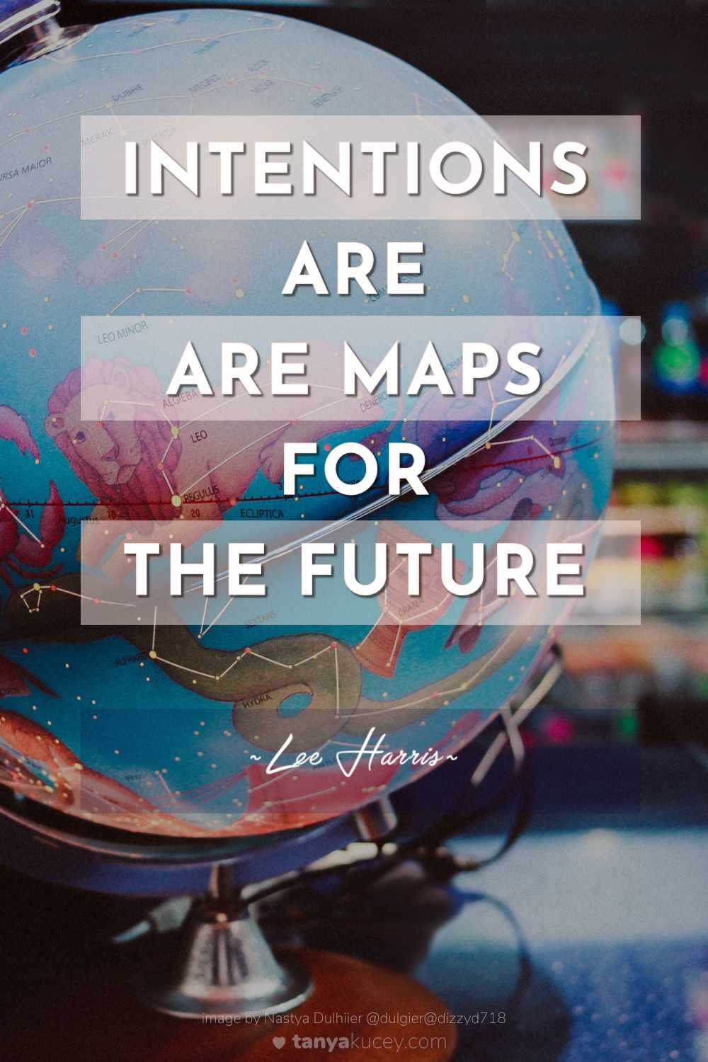 Quotes by Lee Harris. Intentions are maps for the future. Spiritual Quotes. Inspirational quotes